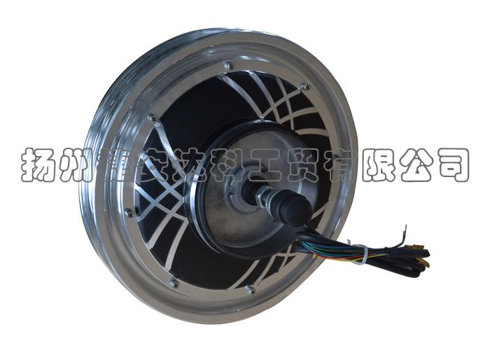 14 Inch Gearless Brushless Hub Motor